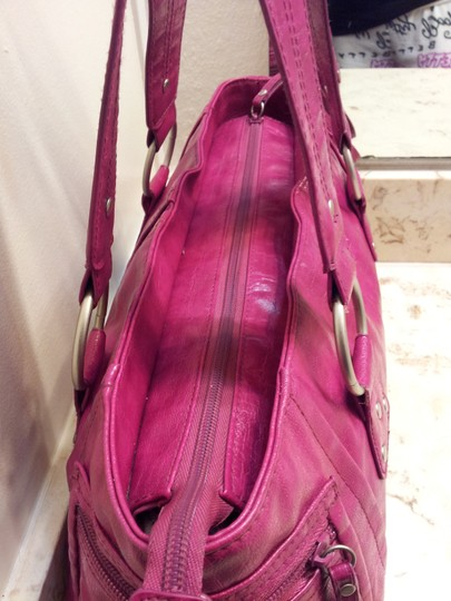 Kenneth Cole Reaction Satchel in Mauve
