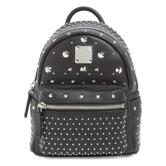 Preload https://item1.tradesy.com/images/mcm-x-mini-stark-bebe-boo-studded-black-leather-backpack-10199050-0-2.jpg?width=440&height=440