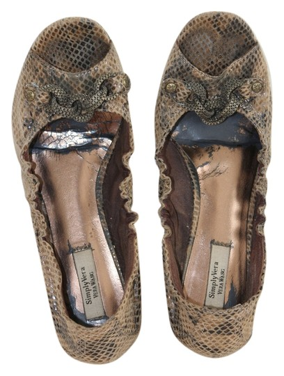Preload https://item1.tradesy.com/images/simply-vera-vera-wang-bronzelight-brown-snakeskin-chain-rings-faux-flats-size-us-8-1019920-0-0.jpg?width=440&height=440
