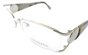 Tiffany & Co. Women's Silver Horn Optical Frame New