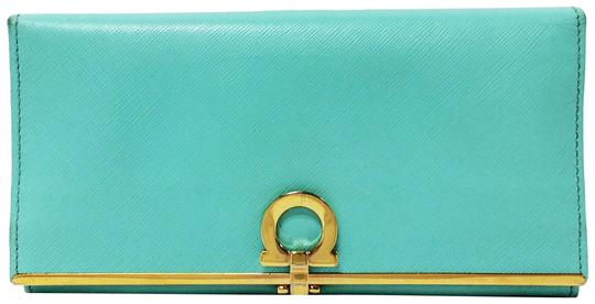 Preload https://item2.tradesy.com/images/salvatore-ferragamo-light-blue-turquoise-4633-icona-continental-leather-wallet-10199386-0-6.jpg?width=440&height=440