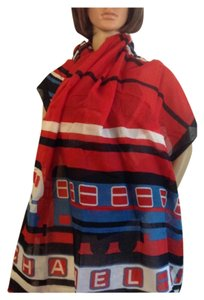 Chanel NEW CHANEL RARE LE TRAIN CC WRAP / SCARF/ PAREO