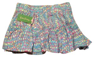 Lilly Pulitzer Skirt Multi Clam Jam
