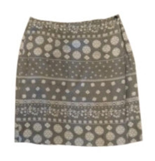 Talbots Skirt Black and Tan