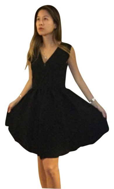Preload https://item3.tradesy.com/images/maje-blac-knee-length-cocktail-dress-size-2-xs-10200232-0-1.jpg?width=400&height=650