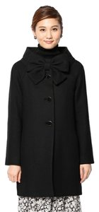 Kate Spade Wool Bow New Pea Coat