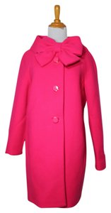 Kate Spade Wool Bow Pea Coat
