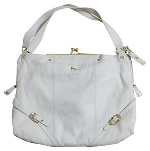 Emma Fox Satchel in White