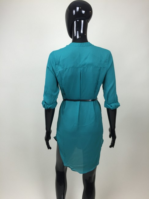 Other short dress Green Belt Zipper on Tradesy