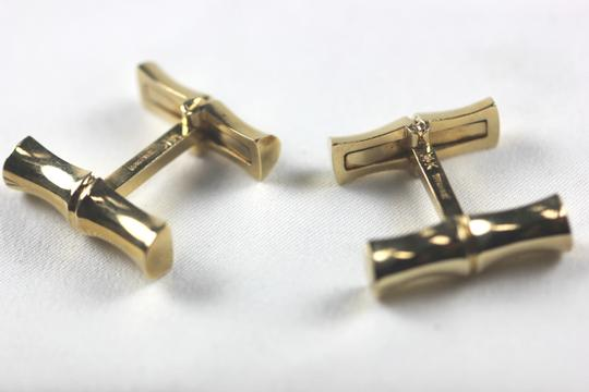 Tiffany & Co. Rare Vintage Bamboo 14kyg cufflinks by Tiffany and Co.