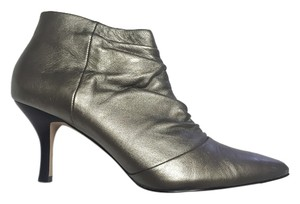 Ciao Bella Silver Bootie Metallic pewter Boots