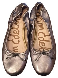 Sam Edelman Pewter Metallic Flats