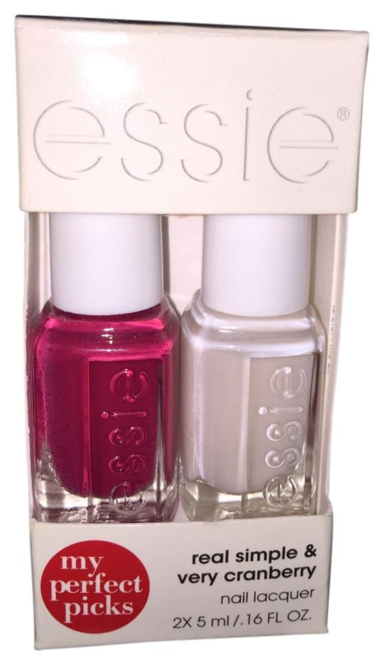 Essie Real Simple & Very Cranberry 2-piece Nail Polish Set - Tradesy
