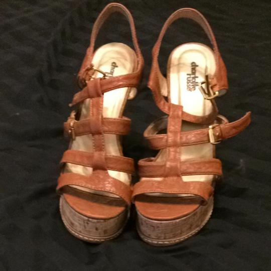 Charlotte Russe Tan Wedges