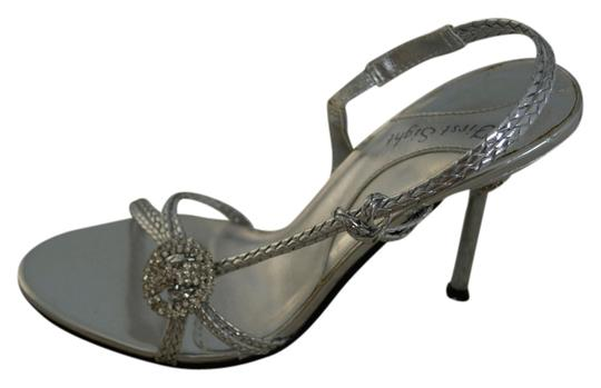 First Sight Silver with crystals Formal