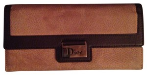 Dior calfskin long wallet (new)