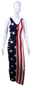 Other Stars Stripes 4th Of July Slits Dress