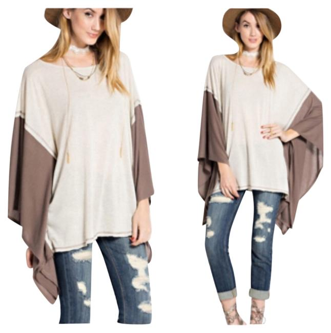 Preload https://item2.tradesy.com/images/oatmeal-tunic-size-os-one-size-10201996-0-1.jpg?width=400&height=650