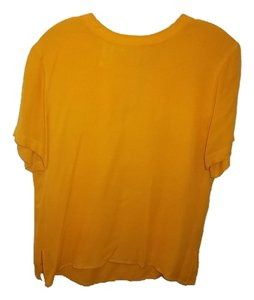 Jones New York Top sunflower yellow