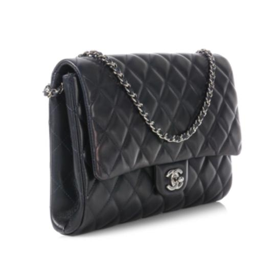 Chanel Dark Navy Clutch