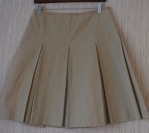 Max Mara Mini Skirt beige