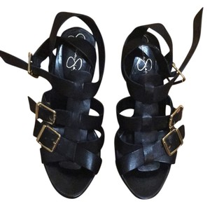 Jessica Simpson Blac Wedges