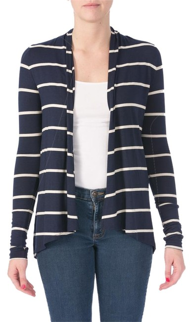 Preload https://item3.tradesy.com/images/three-dots-navy-white-style-number-jk734s-blazer-size-2-xs-10204927-0-1.jpg?width=400&height=650