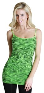 Nikibiki Zebra Top Neon Green