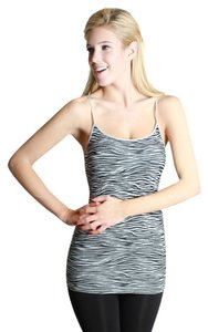 Nikibiki Zebra Metal-gray Top Gray
