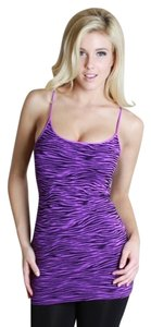Nikibiki Zebra Top Neon Purple