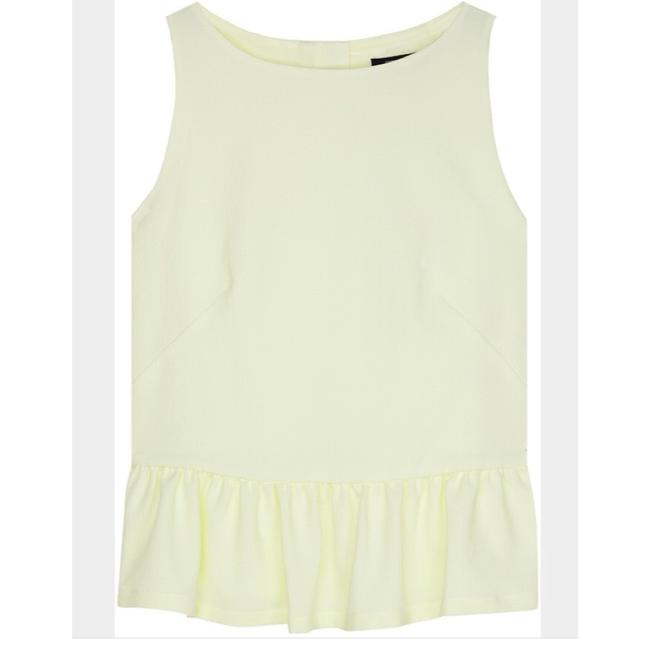 French Connection Top Pale yellow