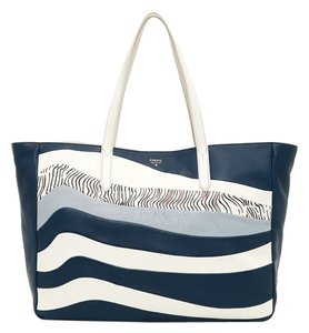 Fossil Tote in Blue