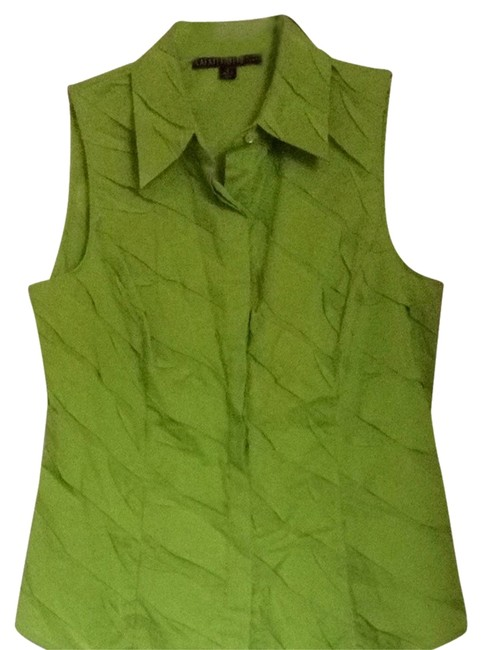 Preload https://item3.tradesy.com/images/lafayette-148-new-york-pretty-lime-green-button-down-top-size-4-s-1020572-0-0.jpg?width=400&height=650