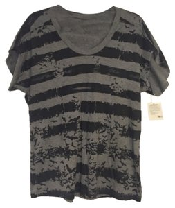 Alexander McQueen T Shirt Black and Grey