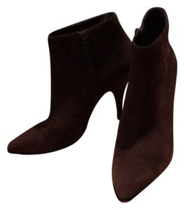 Prada Suede Brown Suede Chocolate Boots