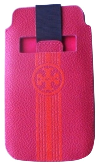 Preload https://item5.tradesy.com/images/tory-burch-pink-orange-roslyn-saffiano-leather-pull-pouch-media-tech-accessory-10205929-0-1.jpg?width=440&height=440