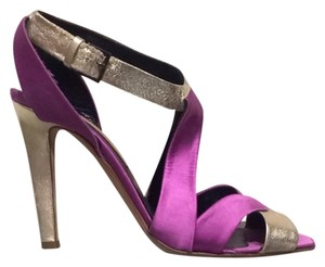 Rupert Sanderson Purple Pumps
