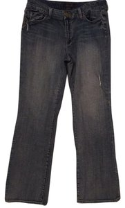 Seven7 Jeweled Destructed 7 For All Mankind Boot Cut Straight Leg Jeans