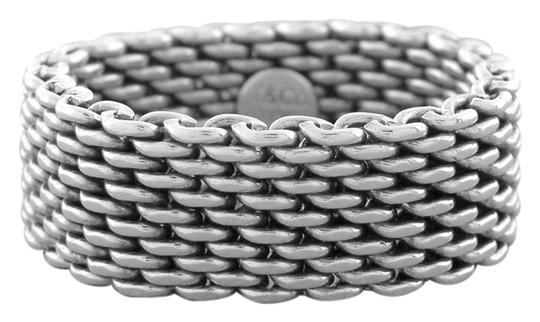 Preload https://img-static.tradesy.com/item/10207630/tiffany-and-co-silver-sterling-wide-mesh-flexible-65-metal-purity-925-ring-0-1-540-540.jpg