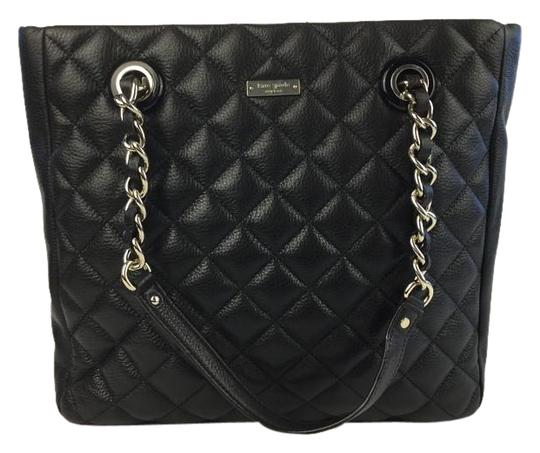 Preload https://item5.tradesy.com/images/kate-spade-gold-coast-sierra-metallic-black-quilted-leather-tote-1020769-0-2.jpg?width=440&height=440