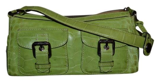 Preload https://item3.tradesy.com/images/dooney-and-bourke-lime-green-leather-croc-hobo-bag-1020777-0-0.jpg?width=440&height=440