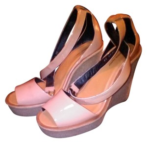 Pierre Hardy Nude Wedges