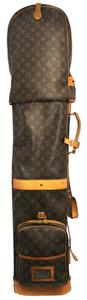 Louis Vuitton Auth Louis Vuitton Sac A Golf Bag Monogram Canvas Leather France Vintage K05776