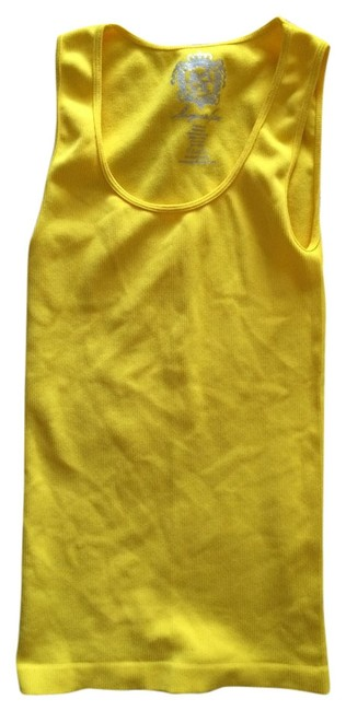 Preload https://item3.tradesy.com/images/sugar-lips-seamless-scoop-neck-bodycon-tank-top-lemon-yellow-1020962-0-0.jpg?width=400&height=650