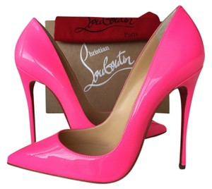Christian Louboutin Pigalle NEON PINK Pumps
