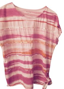 White Stag Top Pink, White, Yellow