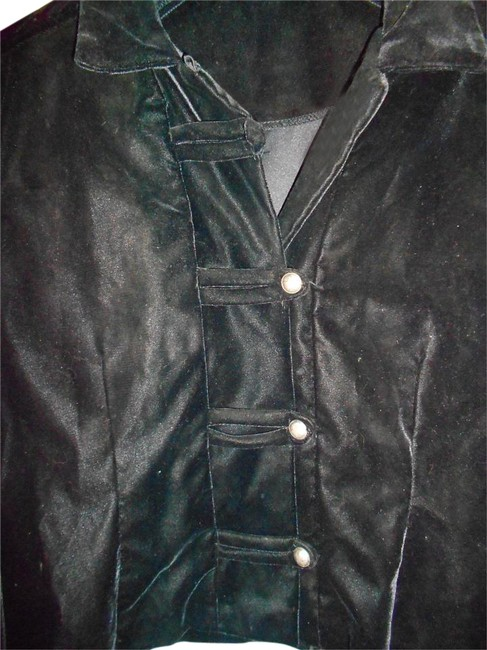 Other Coat Coat Black Velvet Blazer