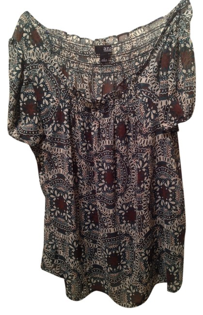 Preload https://img-static.tradesy.com/item/10210627/ana-a-new-approach-greenbrown-blouse-size-12-l-0-1-650-650.jpg