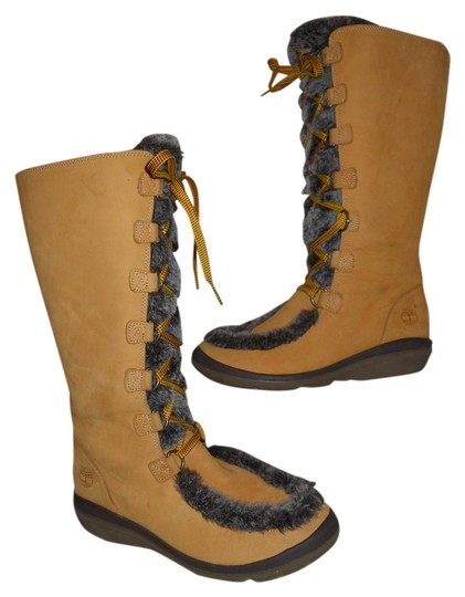 Timberland Leather Nubuck tan Boots Image 0