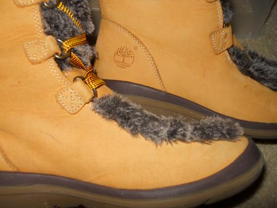 Timberland Leather Nubuck tan Boots Image 10